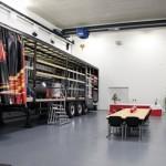 Das Prüfzentrum für Ladungssicherung im 3G Kompetenzzentrum