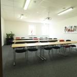Tagungsraum Edison im 3G Kompetenzzentrum für Ladungssicherung