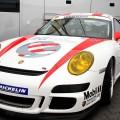 Impression auf der Lasi-Expo von 3G in 2012 - Porsche mit Lasi-Branding