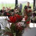 Blumendekoration im 3G Kompetenzzentrum