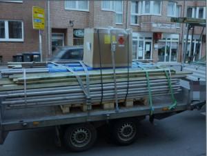 Ladungssicherung im Kleintransporter: Welche Richtlinien gelten?