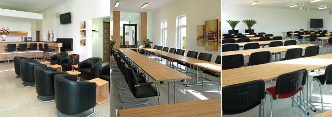 Führen Sie erfolgreiche Seminare und Tagungen im nach Feng-Shui ausgerichteten 3G Tagungszentrum durch. Speziell für Allergiker wurden die Fenster im 3G-Gebäude mit Pollenschutz ausgerüstet.