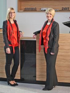 Sophia Röhrig und Diana Wehner